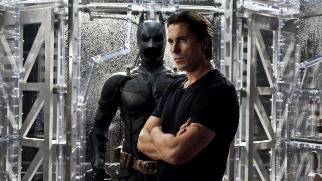 The real Batsuit Bruce Wayne / Batman (Christian Bale) in The Dark Knight Rises