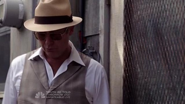 Le chapeau JJ Hat Center de Raymond Reddington (James Spader) dans The BlackList