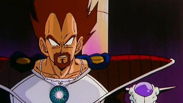 The Figure Of King Vegeta In Dragon Ball Z Spotern
