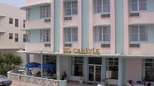 Así se veía el Carlyle en Scarface, cuando todavía era un hotel. Fuente: Spotern.