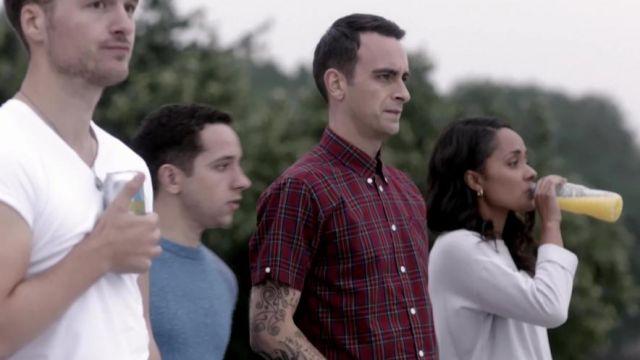 La chemise à carreaux de Rudy Wade (Joseph Gilgun) dans