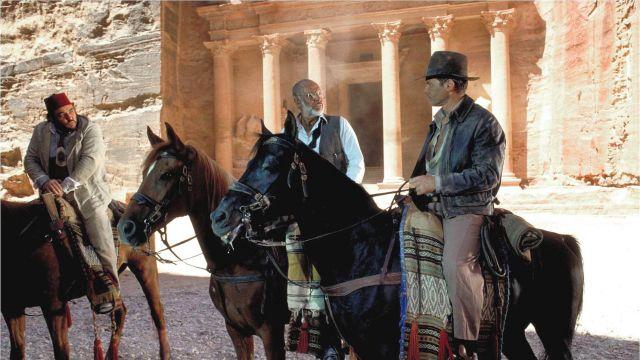 La ville de Petra en Jordanie dans Indiana Jones