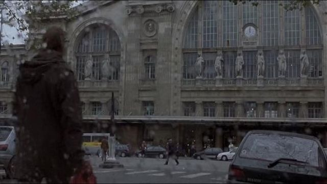 The gare du Nord train Station in Paris in The memory in the skin