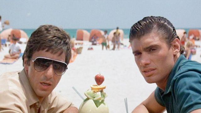 dans quelques jours différemment gamme complète d'articles Les lunettes de soleil vintage de Tony Montana (Al Pacino ...