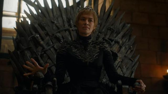 The Crown Of Cersei Lannister Lena Headey In Game Of Thrones Spotern