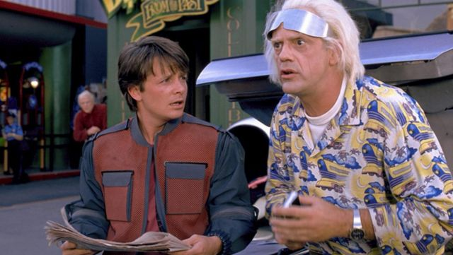 Back To The Future BTTF Doc Brown 1955 Shirt