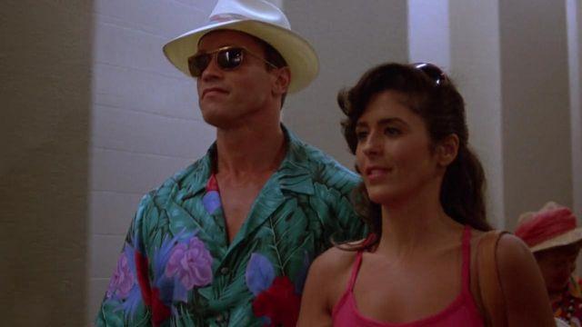 La chemise hawaïenne de Ben Richards (Arnold Schwarzenegger) dans Running Man