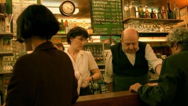 Le bistrot Le verre à pied à Paris dans Le fabuleux destin d'Amélie Poulain (Audrey Tautou)
