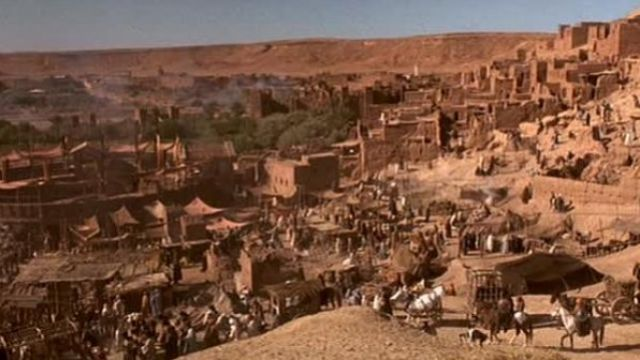 L'Ait Ben Haddou au maroc dans le film Gladiator