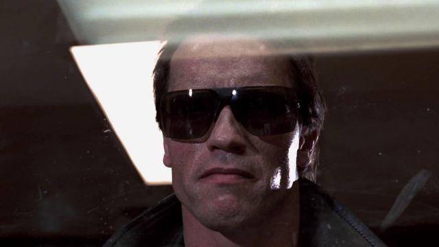 Les lunettes de soleil Gargoyles Ansi Classic du T-800 (Arnold Schwarzenegger) dans Terminator