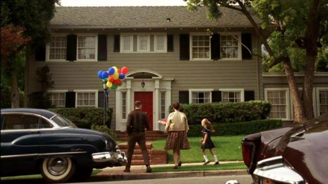 Don Draper's House in Pasadena, California seen in Mad Men