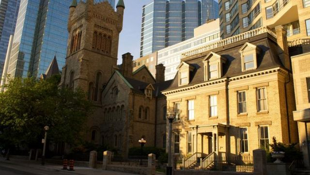 Hannibal's house in Toronto, Ontario seen in Hannibal