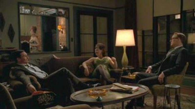 Don Draper's Apartment in New York seen in Mad Men