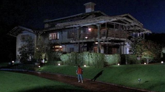 House In Pasadena California Of Doc Brown Christopher Lloyd As