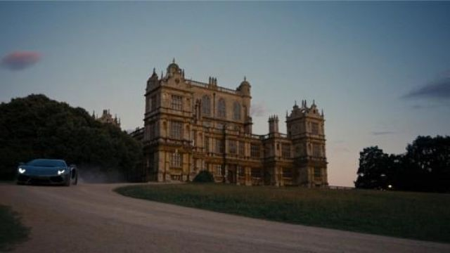 The Mansion of Bruce Wayne (Christian Bale) in Nottingham in The Dark Knight Rises