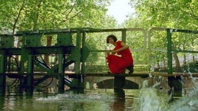 Le canal Saint Martin dans Le fabuleux destin d'Amélie Poulain