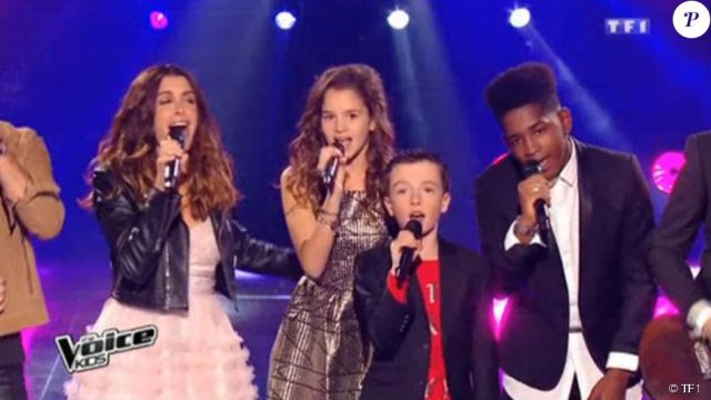 The Pink Dress And Saint Laurent De Jenifer In The Final Of The Voice Kids 2 Spotern