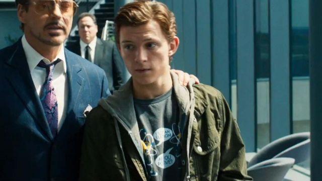 Spiderman Homecoming Peter Parker Tom Holland Jacket