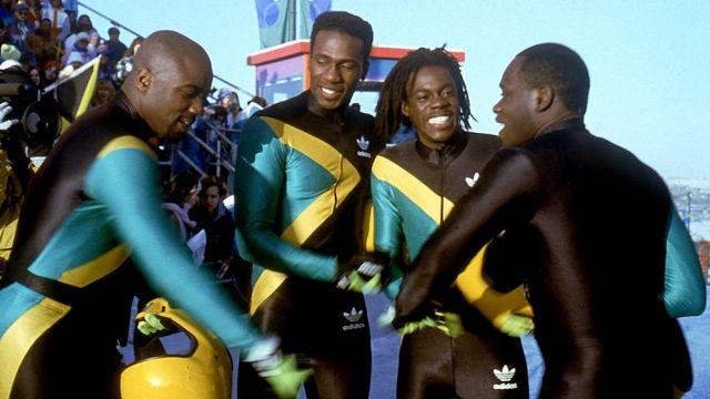Bobsleigh De L'authentique Combinaison La Adidas Jamaïque Dans 6b7fYgy