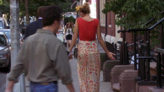 La jupe longue haute Hippie de Serena van der Woodsen (Blake Lively) dans Gossip girl S06E02