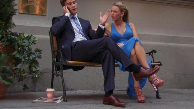Les sandales de Serena van der Woodsen (Blake Lively) dans Gossip Girl S06E02