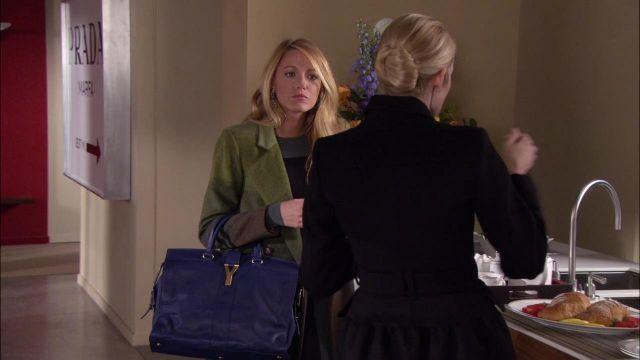 Le sac Yves Saint Laurent de Serena van der Woodsen (Blake Lively) dans Gossip girl S05E21