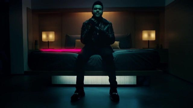 buy popular 8578b 17b6e Sneakers Puma Ignite Limitless of The Weeknd in his video ...