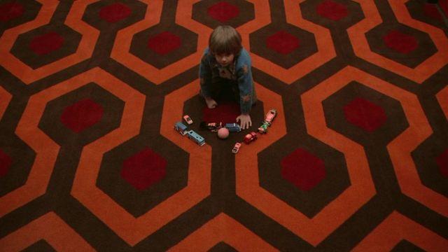 """La moquette de l'hôtel Overlook dans """"The Shining"""""""
