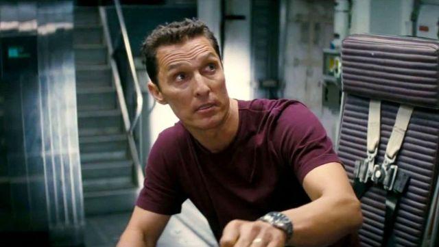 La montre de Joseph Cooper (Matthew McConaughey) dans Interstellar