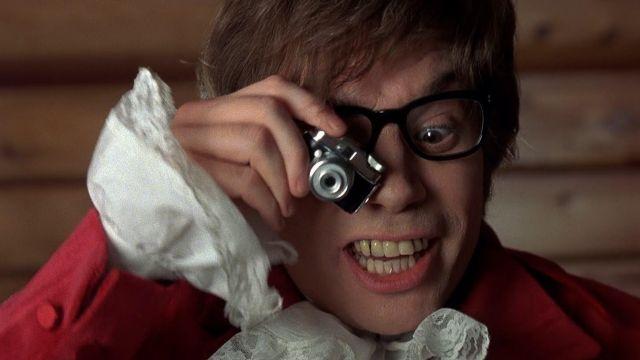 Le mini appareil photo espion de Mike Myers dans Austin Powers
