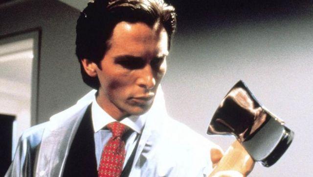 La hache (Axe) de Patrick Bateman (Christian Bale) dans American Psycho