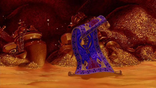 The Replica Of The Flying Carpet In The Cartoon Aladdin Spotern