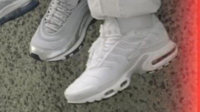 Sneakers Nike Air Max TN Most of the clip Shutdown of Skepta