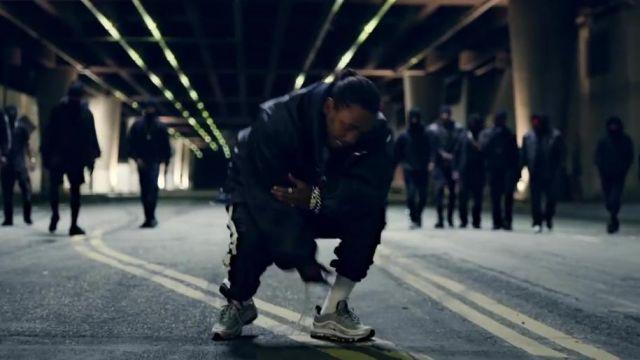 97 Air worn Sneakers Kendrick Nike Silver in by Max Lamar VGLSzMUqjp