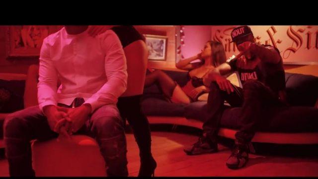 Les Air Jordan dans le clip Infréquentables de Dosseh