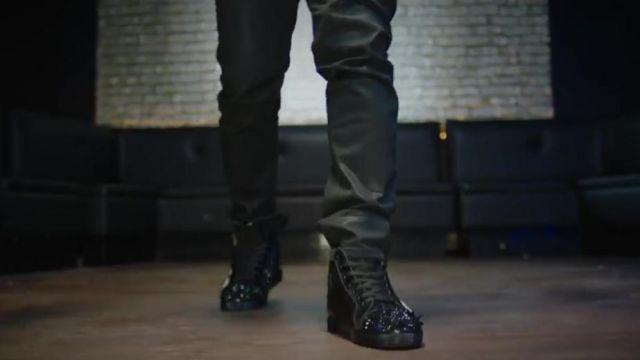 baskets pour pas cher 494d7 61841 Sneakers Christian Louboutin Kaaris in her video clip Tchoin ...