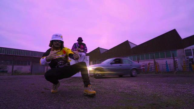 Les Nike Air Max 95 Premium  de Lorenzo dans le clip Le son qui fait plaiz
