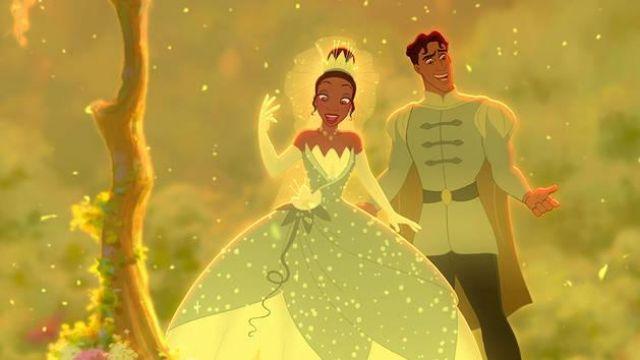 La Robe Verte De Tiana Dans La Princesse Et La Grenouille