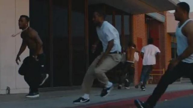 new york 2244d 37787 Sneakers Nike Cortez black in the clip Element. of Kendrick ...