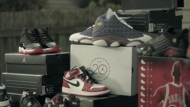 Sneakers Nike Air Jordan 13 Flint In The Clip Marmalade Feat Lil Yachty Macklemore Spotern