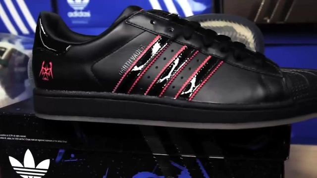 Sneakers Adidas Superstar Star Wars edition Darth Vader