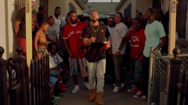 """Les sneakers Nike Air Jordan 7  """"Countdown Pack"""" dans le clip Hate it or love it de The Game FT Drake 100"""