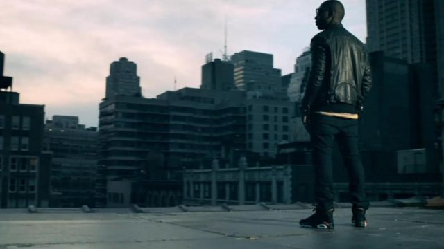 "Les sneakers Nike Air Jordan 6 retro ""infrared 2014"" dans le clip Written In The Stars ft. Eric Turner de Tinie Tempah"