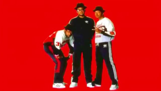 tout neuf 3cefe 67df8 Sneakers Adidas Superstar Run–D. M. C. in the clip My Adidas ...