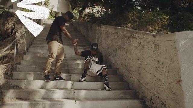 Les sneakers Nike Air Jordan 13 retro dans le clip Money and the Power de Kid Ink