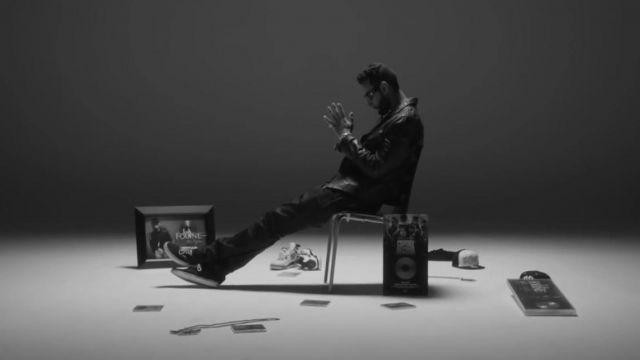 Les sneakers Nike Air Jordan 4 retro dans le clip Essaie encore de La Fouine