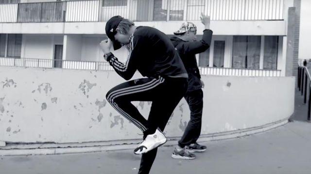 pretty nice d687f 704f2 Sneakers Nike Air Jordan 14 retro Black toe in the clip ...