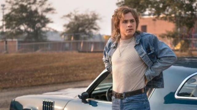 Jean jacket vintage Billy (Dacre Montgomery) in Stranger