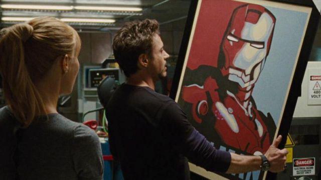 IRON MAN HQ the Avengers Shepard Fairey Maxi Poster fino a 70x100
