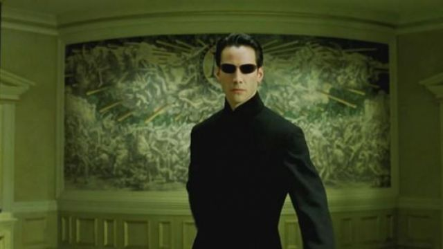 Costume Neo (Keanu Reeves) in the Matrix movie